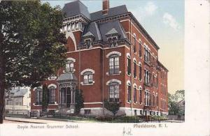 Rhode Island Providence Doyle Avenue Grammar School