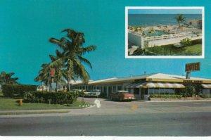 NORTH MIAMI BEACH, Florida, 1950-60s; Ocean Shore Motel, swimming pool