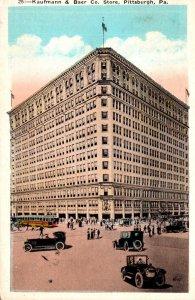 Pennsylvania Pittsburgh Kaufmann & Baer Company Department Store 1925