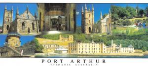 Large Size Panorama Postcard, Port Arthur, Tasmania, Australia 206x93mm #945
