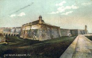 Fort Marion St Augustine FL Unused