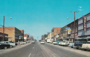 RAEFORD , North Carolina, 1950-60s ; Main Street