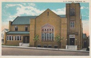 PORTAGE, Pennsylvania, 1923; U.B. Church