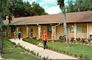 Florida Leesburg Lake Yale Baptist Assembly Adult Fellowship Building 1978
