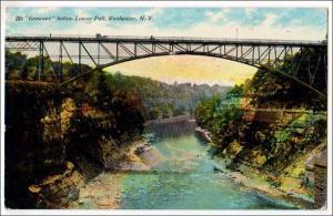 Genesee Below Lower Falls, Rochester NY