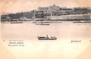 Budapest Republic of Hungary Kiralyi palota Budapest Kiralyi palota