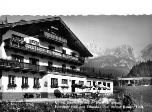Going Gasthof Pension Blatthof gegen Ellmauer Halt und Ellmauer Tor