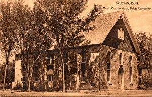 Kansas Baldwin Music Conservatory Baker University