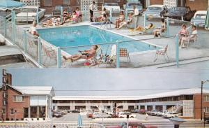 VIRGINIA BEACH , Virginia, 1950-60s ; Colonial Inn Motel