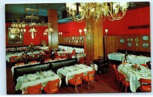 *Paul Young's Restaurant 1120 Connecticut Ave Washington DC Vintage Postcard A61
