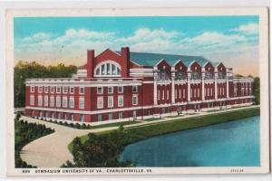 Gym, University of VA, Charlottesville VA