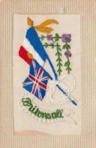 Hand Sewn, 00-10s; Britonsall, Flag of France & Union Jack