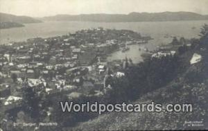 Norway, Norwegian, Norge, Norske Bergen  Real Photo