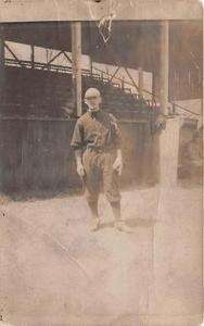 Early Ball Field Base Ball Baseball Real Photo  Post Card Early Ball Field