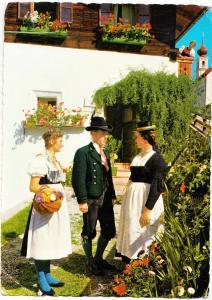 Austria, Salzburger Trachten, Pongauer Gruppe, used Postcard