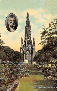 Scott's Monument Edinburgh Unused