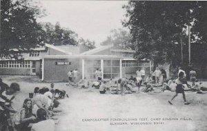 Wisconsin Elkhorn Campcrafter Firebuilding Test Camp Singing Hills Artvue