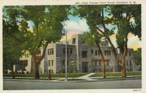CARLSBAD , New Mexico , 1930-40s ; Court House