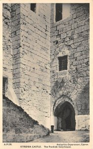 uk43074 kyrenia castle frankish gate house cyprus