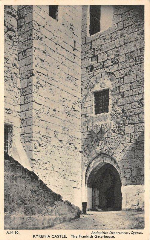 uk43074 kyrenia castle frankish gate house cyprus