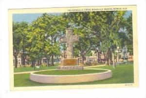 The Bienville Cross, Bienville Square, Mobile, Alabama, 30-40s