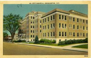 The City Hospital, Binghamton NY, New York Linen