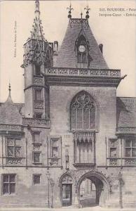 France Bourges Palais Jacques-Coeur Entree