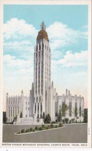 Oklahoma Tulsa Boston Avenue Methodist Episcopal Church South Curteich