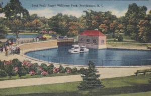 Rhode Island Providence Roger Williams Park Seal Pool