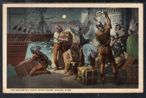 The Boston Tea Party,State House,Boston,MA
