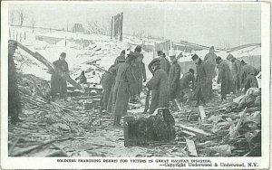 Vintage postcard: CANADA - GRAT HALIFAX DISASTER