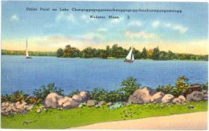 Linen of Webster MA Union Point on Lake Chargoggagoggmanchau
