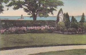 Rhode Island Newport Convent of Our Lady of Cenacle Handcolored Albertype