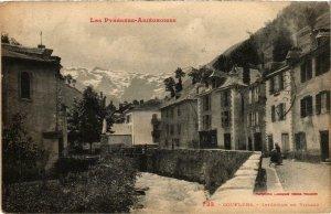 CPA Couflens Intérieur du Village Ariege (101598)