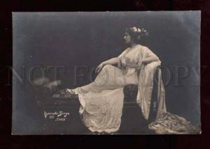 025045 KUZNETSOVA Russia Opera Star as Taisa. Old PC