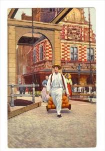 Kaasmarkt, Alkmaar (North Holland), Netherlands, 1900-1910s