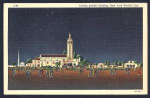 Florida Exhibit @ World's Fair New York unused c1939