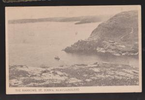NEWFOUNDLAND - Schooner Sailing Out The Narrows, St John's - 1950s - Unused
