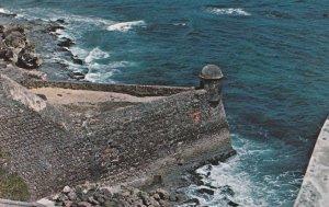 Sentry Box , Castillo San Cristobal , San Juan , PUERTO RICO , 50-60s