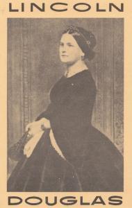 Wife Of Abraham Lincoln Stephen Douglas USA American Politics Postcard