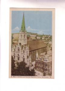 St Mary's Cathedral and Parochial Residence, Halifax, Nova Scotia,