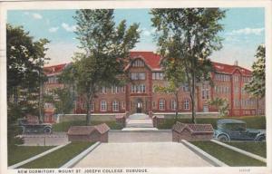 Iowa Dubuque New Dormitory Mount St Joseph College 1934 Curteich