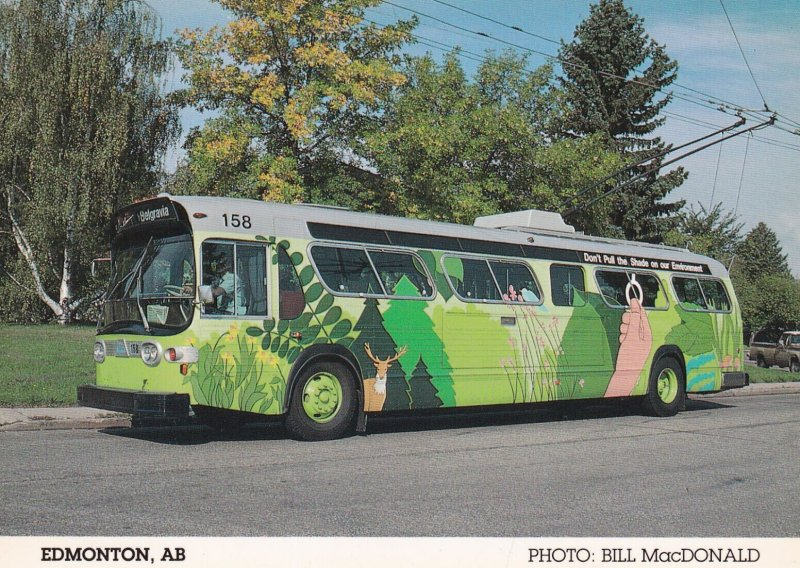EDMONTON, Alberta, Canada, 1940-1960s; Trolley (Environmental)