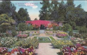 A Private Sunken Garden In Southern California 1915