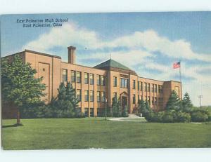 Unused Linen HIGH SCHOOL East Palestine Ohio OH L9825-22