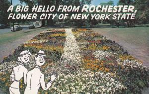 Greetings and a Big Hello - from Rochester, New York - The Flower City