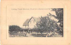 Ulster Heights New York Lake View House Exterior View Antique Postcard V15572