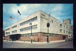 Louisville, Kentucky/KY Postcard, Police New Headquarters Building, 1958!