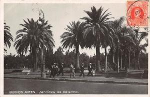 Argentina Buenos Aires, Jardines de Palermo, Palm Trees 1937