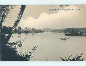 1948 BURNS LAKE Whitefield - White Mountains New Hampshire NH hn4898